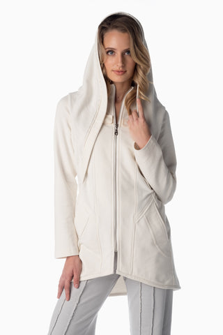 Shesha Hood™ <br>Winter White | Arctic Grey Lining