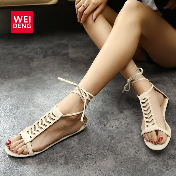 NEW!! 2017 Women's Roman Gladiator Sandals-TheLeatherStore