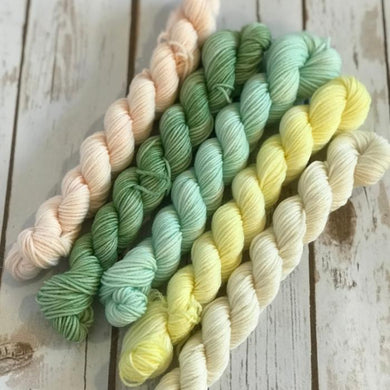 "Divine Sock Mini Set - ""Easter Lily"""