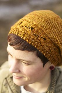 Caramel Slouch Hat
