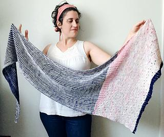 Parlour Shawl - BigFootFibers