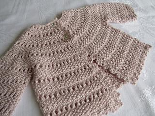 Sunday Baby Cardigan - BigFootFibers