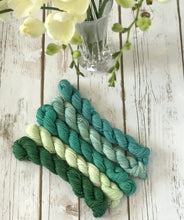 "Awesomest Sock Mini Skein Set ""Luck 'O The Irish"""