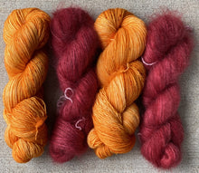 "SuperSquishySingles FingeringWeight ""Orange Crush"" - BigFootFibers"