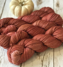 "BrilliantlySilky BritFoot Sock ""Candied Apples"" - BigFootFibers"