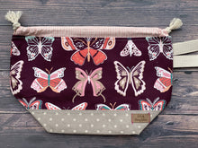 Medium Project Bag - Butterflies