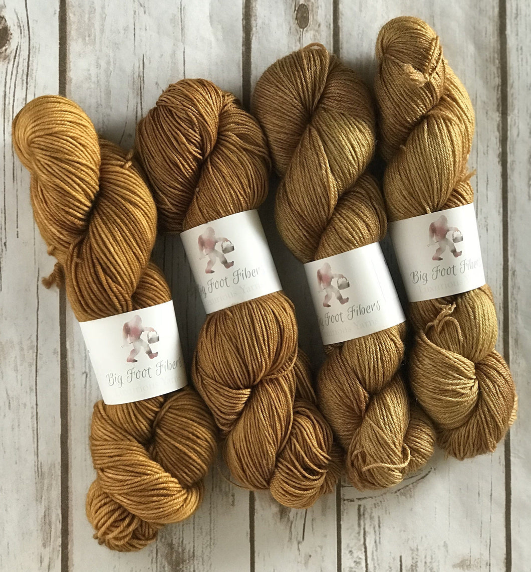 "Divine Sock ""Maple"" - BigFootFibers"