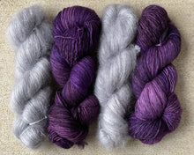"SuperSquishySingles FingeringWeight ""Royal Amethyst"" - BigFootFibers"