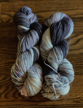 "Divine Sock ""Dark and Stormy Night"" - BigFootFibers"