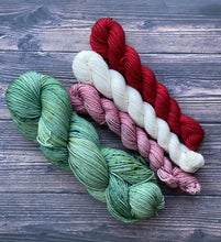 "Divine Sock Colorwork Set - ""Mulberry"""