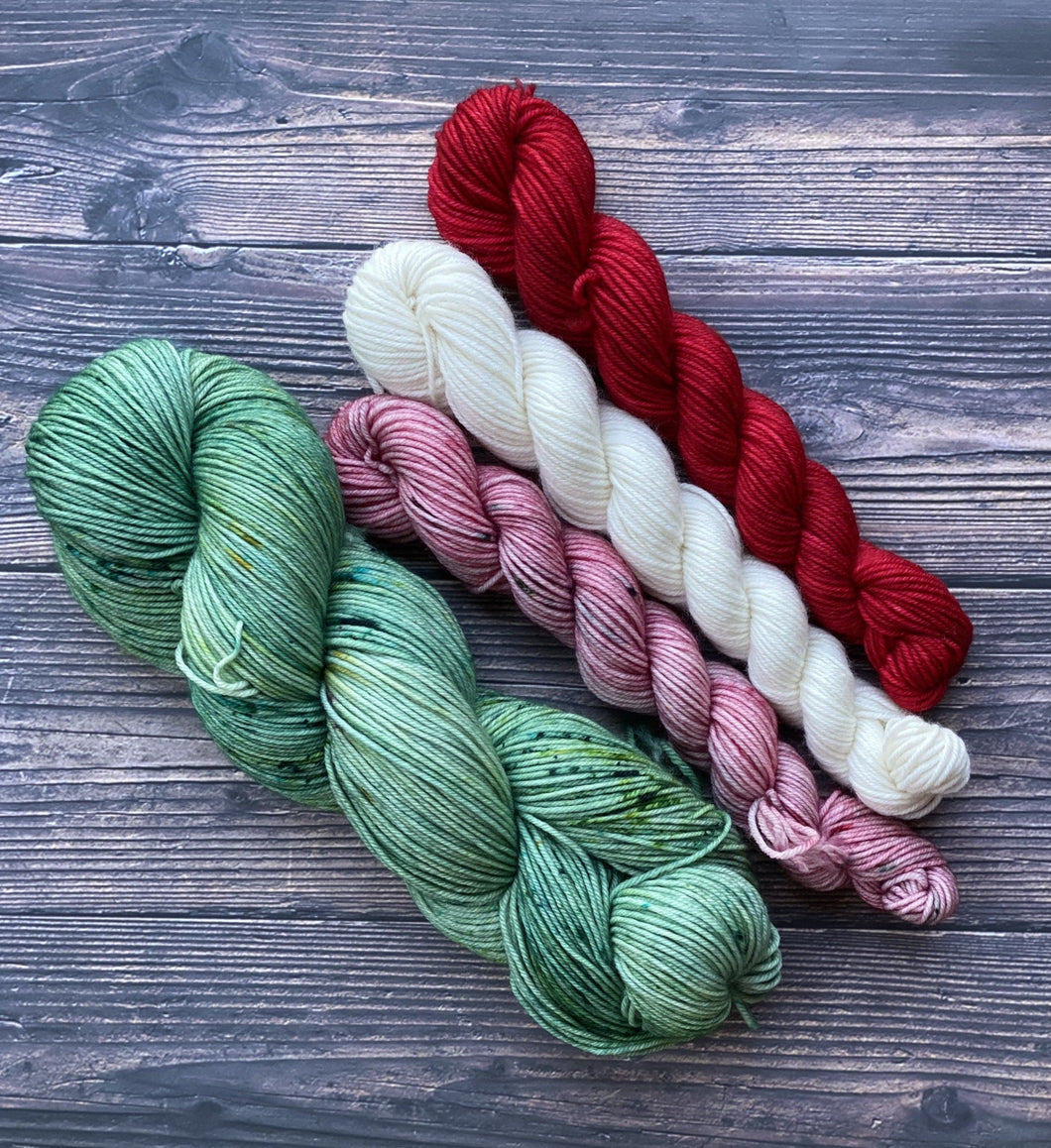 Divine Sock Colorwork Set -