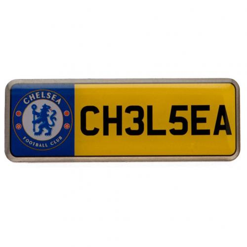 Chelsea F.C. Nummerplade Badge