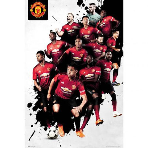 Manchester United F.C. Plakat Players 24