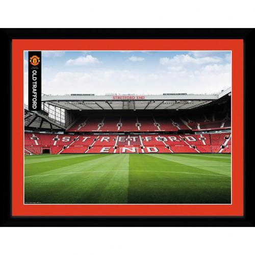 Manchester United F.C. Billede Stretford End 16 x 12