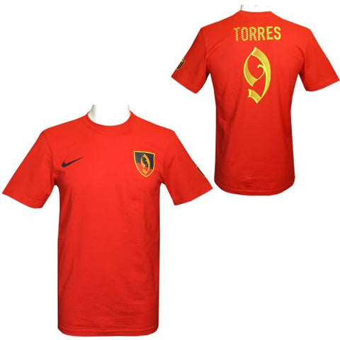 Torres Nike Hero T-Shirt Mens S