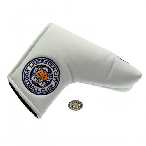 Leicester City F.C. Putter Headcover & Markør