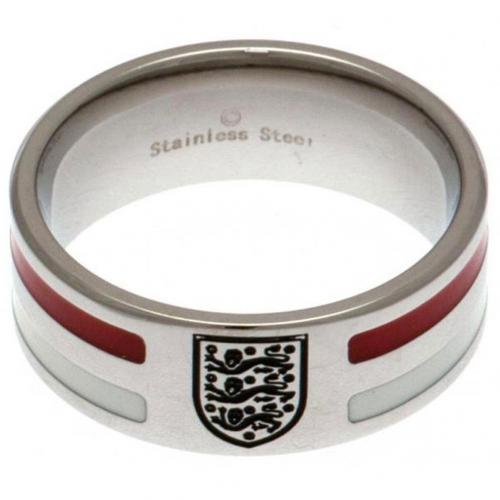England F.A. Farve Stribet Ring - Small