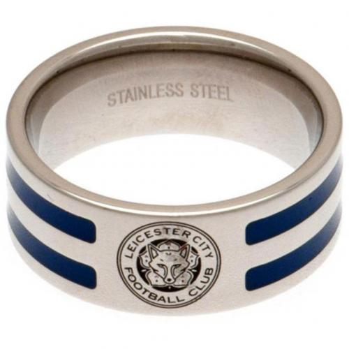 Leicester City F.C. Farve Stribet Ring - Medium