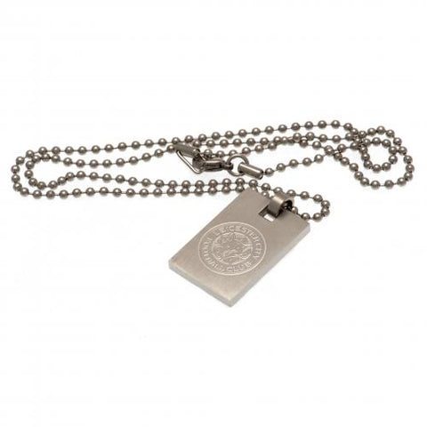 Leicester City F.C. Dog Tag & Kæde