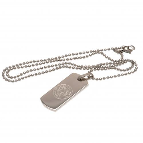 Leicester City F.C. Smal Dog Tag & Kæde
