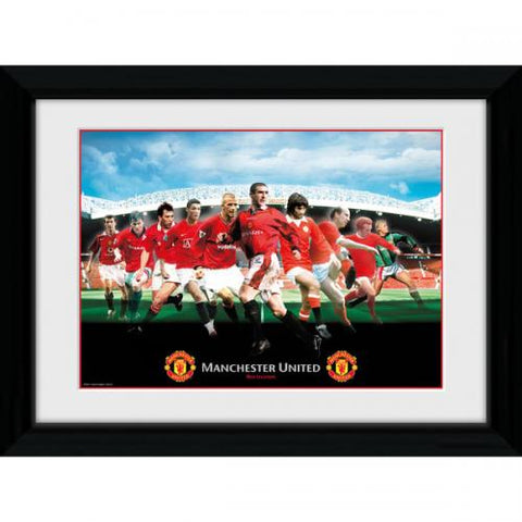 Manchester United F.C. Billede Legends 16 x 12