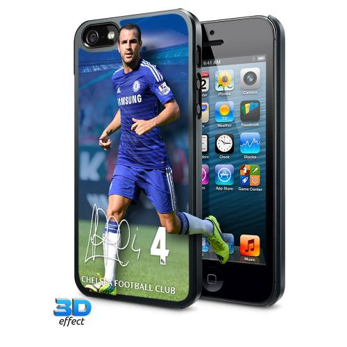 Chelsea F.C. iPhone 5 / 5S / 5SE Hard Case 3D Fabregas