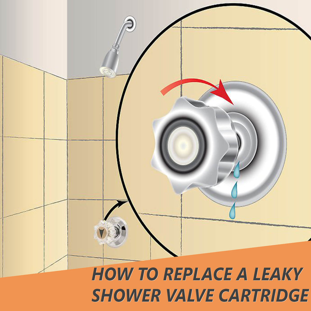 How to Replace a Leaky Shower Valve Cartridge