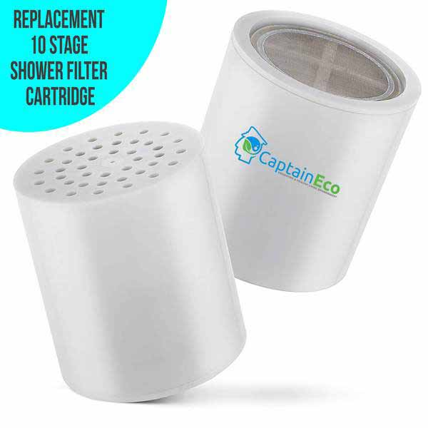 Set of two 10 Stage Shower Filter Cartridge