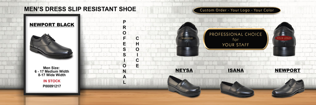 Slip Resistant dress shoes from Vangelo Professional Footwear become popular for Waiters