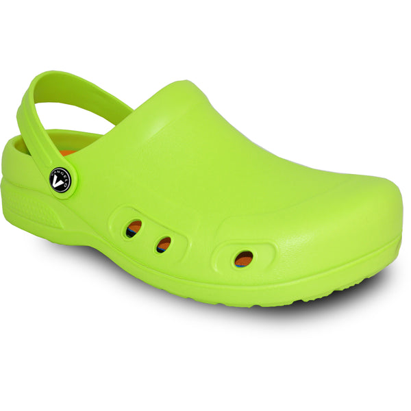 VANGELO Men Slip Resistant Clog RITZ Lime Green