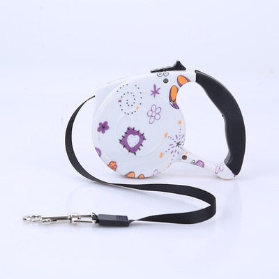 Dog Leash Automatic Retractable Dog Collar Harness PLASTIC Pet Product