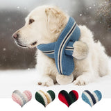 Warm Woolen Neck Scarf Dog Accessories