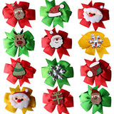 50pcs Christmas Pet Products Dog Bows Cat Dog Pet Bow Tie Bandana for Holiday