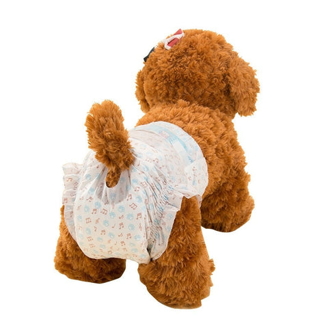 Pet Cleaning Products Dry and Breathable Disposable Female Dog Diapers