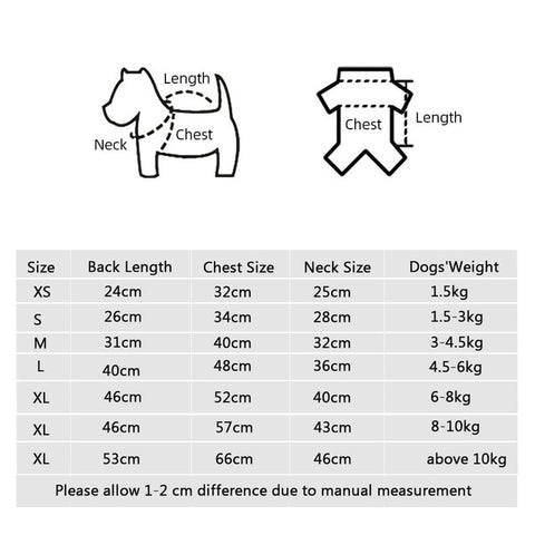 Cotton Warm Clothes For Dogs Thickening Pet Product Dog's Coat Jacket