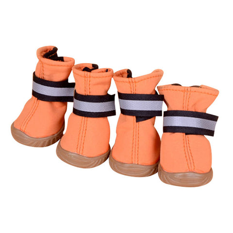 Spring autumn Pet Dog Shoes Waterproof 4Pcs/Set Small