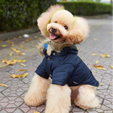 Dog Clothes Winter Warm Pet Dog'S Clothes