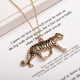 Dog Tiger Monkey Elephant Bee Bird Rabbit Leopard Animal Necklace Pendants