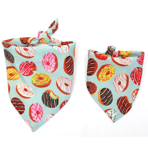 Bandana Donut Printed for Dogs and Cats