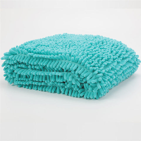 60x35cm Pet Shower Drying Towel Super Absorbent Pet Bath Towel Blanket fiber