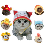 Teddy Cat Wear Pet Products Headwear Halloween Xmas Party