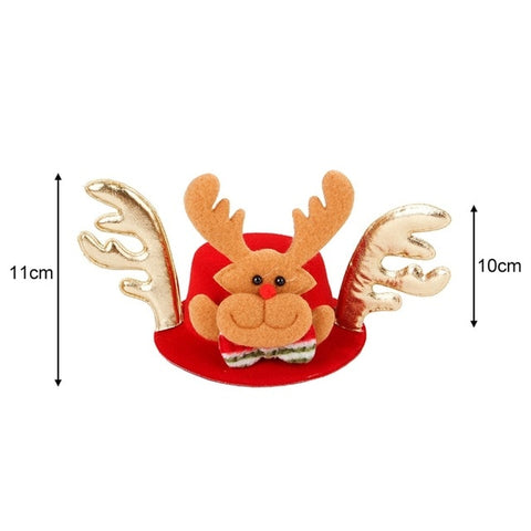 1Ppc Christmas Pet Headdress Santa Hat