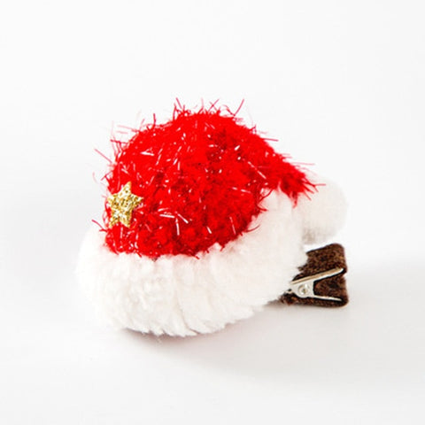 Christmas Pet Hair Clips Dog Hair Accessories