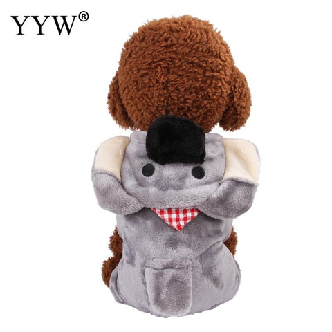 Gray Pet Dog Cat Clothes Ropa Perro Chihuahua Pet Products For Dogs Cat