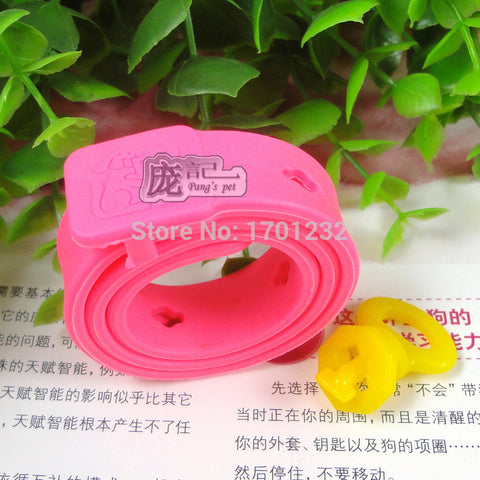 Cat or Dog pet flea collars pink flea flea circle to kill lice in addition to the parasite deworming