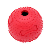 7.6CM Pet Dog Ball Toy Drain Food Treat Chew Ball Rubber Products Puzzle Toys -30