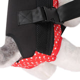 Fashion Pet Bows Backpack Dog Carrier Dot Pattern Pets Cat Head Out Double Shoulder Outdoor Bag