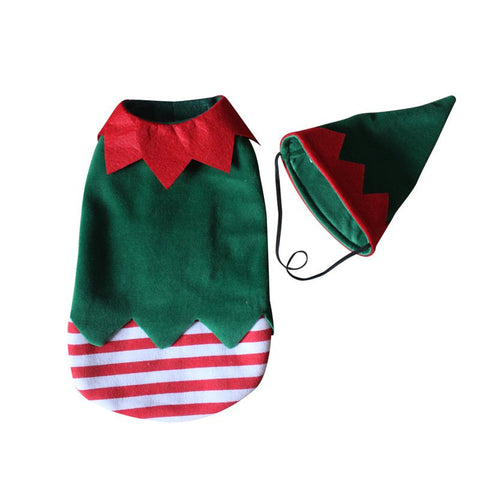 Pet Dog Clothes Christmas and Halloween Clown Suit