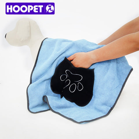 Dog Bath Towel Made By Microfiber 100*68cm Two Color High Quality Pet Product