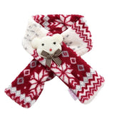 New Warm Pet Dog Scarves Puppy Bow Tie Dogs Collars Cat Scarf Winter Accessories